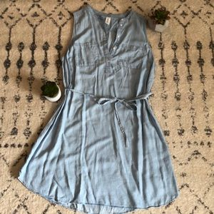 NWOT H&M Mama Soft Denim Dress